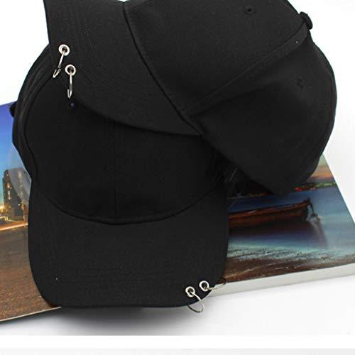 Wintermütze, Kpop Wings Tour Jimin Eisenringe Hüte lieben Sich selbst Snapback Baseball Cap, Hut