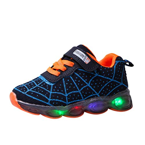 KUKICAT LED-Lichtschuhe,Süß Karikatur Sportschuhe,rutschfeste Leichte Schuhe Dinosaurier Paw Beleuchtete Schuhe Flexibel Lauflernschuhe für Mädchen & Jungen