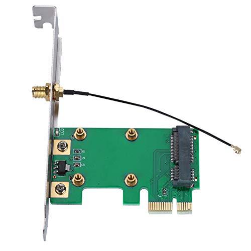 Agatige Tarjeta Vertical PCI-E, Tarjeta Vertical Mini PCI-E a PCI-E Expandir Tarjeta de Red del Adaptador Externo