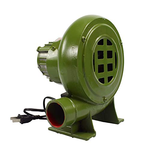 Yx-outdoor Soplador de CA de Hierro Fundido eléctrico, para Estufas de leña Familiares, calderas pequeñas, comedores Escolares, gasificador Industrial 220V soplador de Barbacoa,80W