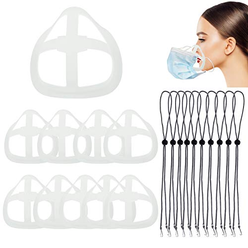 10 pcs 3d silicone face bracket for mask