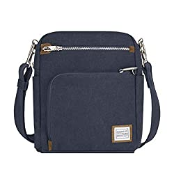 Travelon Anti-Theft Heritage Tour Bag, Indigo