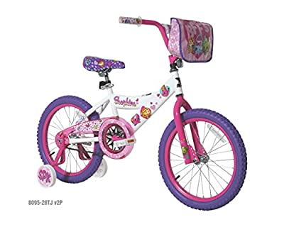 "Shopkins 18"" Bike, White"