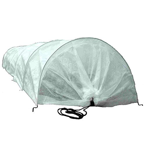 Joseky Plant Antifreeze Blanket, a Reusable Rectangular Plant Protection Blanket, Anti-Frost/Antifreeze/Dust, Suitable for Cold Weather Outdoor/Indoor (8ft×24ft) (White)