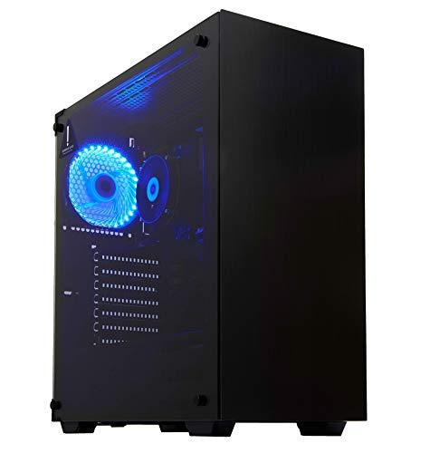BEASTCOM Q1 | Home 'n Office PC | Ordenador de sobremesa | Intel i5 Quad Core 4x 3.60Ghz | 16GB RAM | 256GB SSD + 1TB | Intel 4K Gràficos | HDMI | USB 3.1 | WiFi |Windows 10 Pro |Office 2019