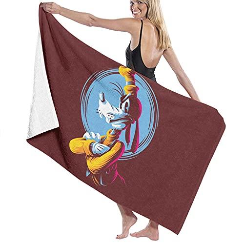 Toallas de baño Goofy, gruesas, suaves y cómodas, con exquisitos patrones impresos, adecuadas para baños, playas y piscinas