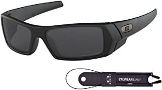 Oakley Gascan OO9014 Sunglasses+BUNDLE with Oakley Leash+Designer iWear Mirror