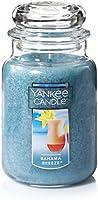 YANKEE CANDLE 1205301Z Company Bahama Breeze Large Jar Candle Blue
