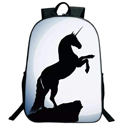 Child Backpack, Male and Female Students, Personalized Backpack,(Unicorn Pattern) (Color : 5)