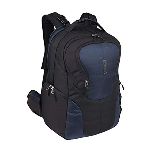 MKLI Fotorucksack DSLR Kamera Rucksack, für Kamera Zubehör und Outdoor Sport Reise Fashion Fototasche, Mit Zubehörfächern, wasserdicht/sturzsicher/stoßfest,Blue-Big