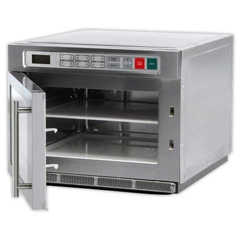 DOJA Industrial | Mikrowelle SAMMIC HM1830 IX 30 L Pot. 1800 W 2 Magnetrones 2 Standfüße Sammic Edelstahl ohne Grill 1800 W 30 Liter