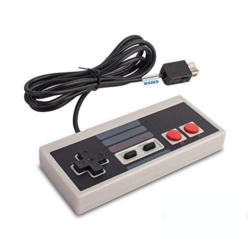 NES Controller Usb WADEO Nintendo Classic Mini Edition Controller Game Controller passend für Nintendo Classic NES Gamepad mit 6ft Extend Link Verlängerungskabel für Nintendo Mini NES Classic Edition