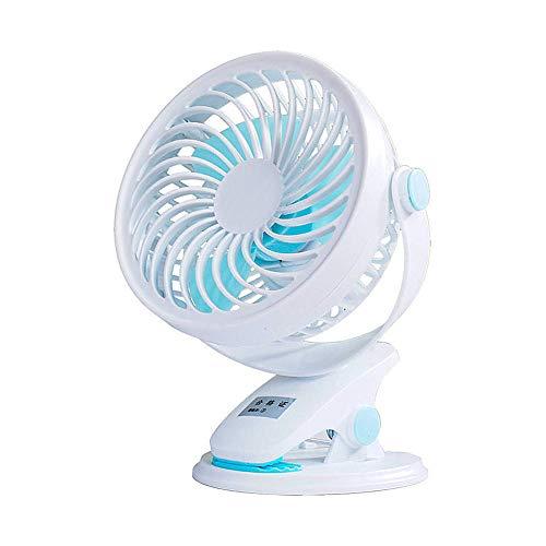 Jjoer Ventilador con Pinza Ventilador De Sobremesa Aspas Ventilador El Ventilador Se Puede Girar Ventilador MáS Silencioso Ventilador Pinza para Salidas De Picnic b