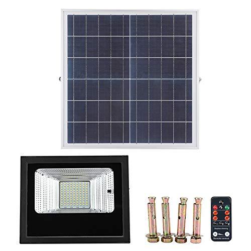 Faceuer Luz LED Solar al Aire Libre, luz de inundación 90LED Luces solares Luz Solar al Aire Libre Luz Solar del Paisaje Lámpara Solar del jardín para el jardín