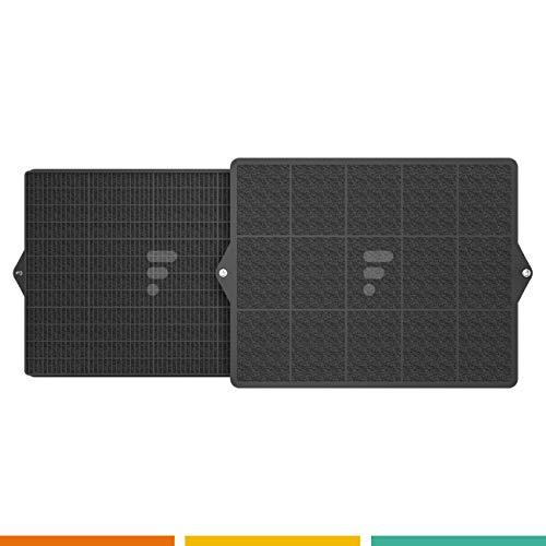 filtre de hotte type FC11 - Compatible Wpro CHF160 De Dietrich DKF41 Scholtes Type 160