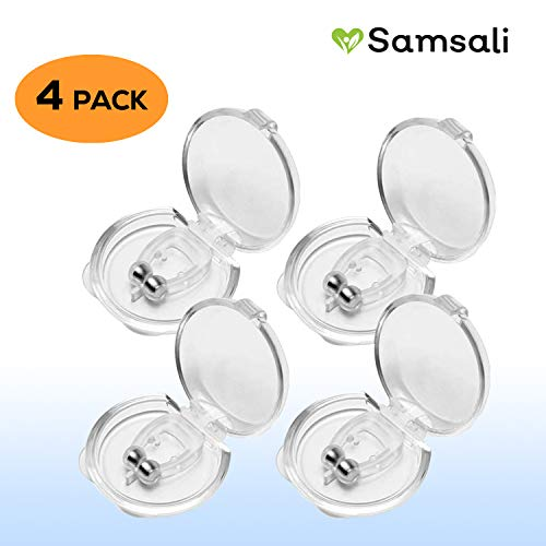 Anti Snoring Clips, Silicone Magnetic Anti Snoring Clips, Best Anti Snoring Device, Professional Anti Snoring Clips for Men and Women, Best Anti Snoring Device, 4 PCS