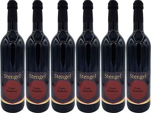 Sekt- und Weinmanufaktur Stengel Cuvée Tradition Halbtrocken (6 x 0.75 l)