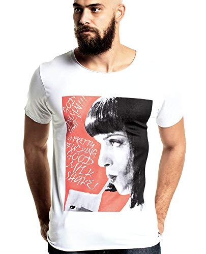Camiseta Pulp Fiction Mia Milk Shake STM