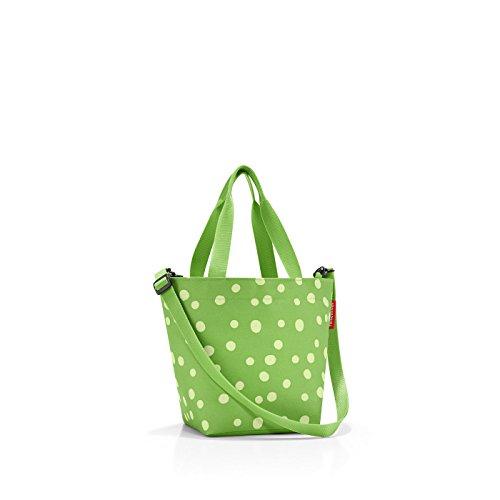 reisenthel shopper XS printed spots green Maße: 31 x 21 x 16 cm / Volumen: 4 l