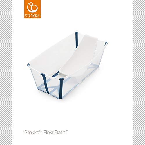 STOKKE - Bañera Plegable Stokke ® Flexi Bath CON SOPORTE para Recién...