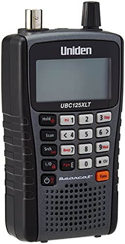 Uniden 125XLT - Scanner a banda larga professionale (radio CB, AIR, UHF, VHF)