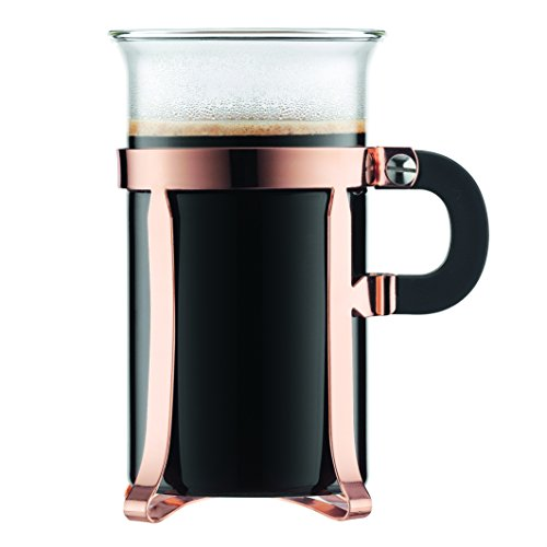 Bodum Chambord Classic 2 Piece Copper Glass, 10 oz,