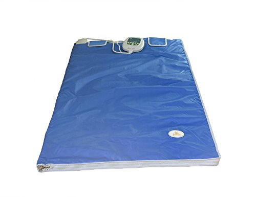 Elitzia Weight Loss Heizung Body Former Health Care Decke Digital Far Infrarot Sauna Blanket mit 2 Zone Controller ETD701