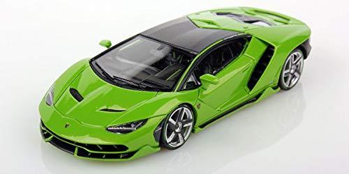Lamborghini Centenario: Modellauto mit Federung, Maisto Maßstab 1:18, Türen und Motorhaube zum öffnen, Fertigmodell, lenkbar, grün