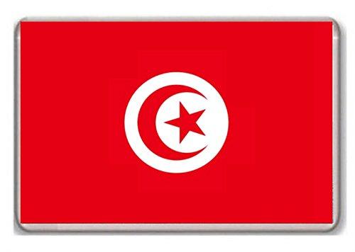 Photosiotas Kühlschrankmagnet, Flagge Tunesien !