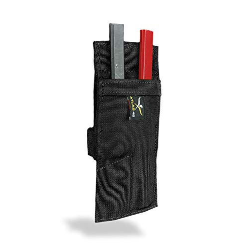 Atlas 46 AIMS Pencil Holder, Black | Hand Crafted in The USA