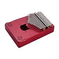 Negaor WK-171RDポータブル17キーカリンバ親指ピアノムビラメープルウッドキャリーバッグチューニングハンマークリーニングクロスステッカーミュージカルギフト