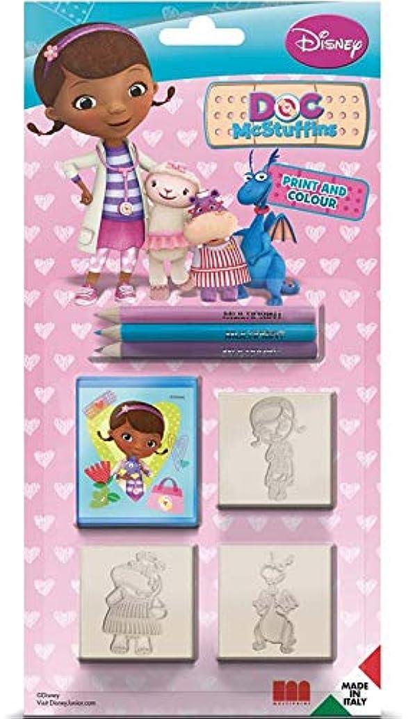 Multiprint 03881?Set Stamps Doc McStuffins