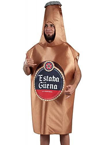 DISBACANAL Disfraz botelln Cerveza Adulto - Adult