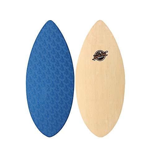 """Skimboards - Performance Foam Textured Deck Skim Board - 41"""" Skipper Skimboard (Blue)"""