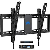 Mounting Dream TV Wall Mount, Low Profile TV Mount for Most 37-70 inch TVs up to 132lbs, Tilting TV Wall Mount with Max VESA 600x400mm, Fits 16', 18', 24' Studs, Easily Adjust Level after Installation