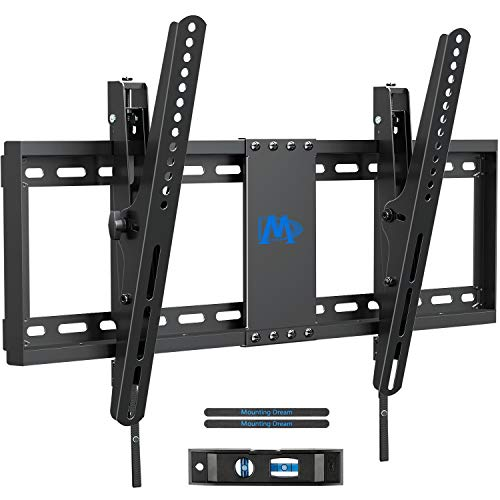 Mounting Dream TV Wall Mounts, TV Mount Low Profile for Most 37-70 inch TVs, Tilting TV Wall Mount with Max VESA 600x400mm, Fits 16