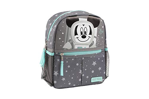Disney Mickey Mouse Astronaut Mini Backpack with Safety Harness Straps for Toddlers