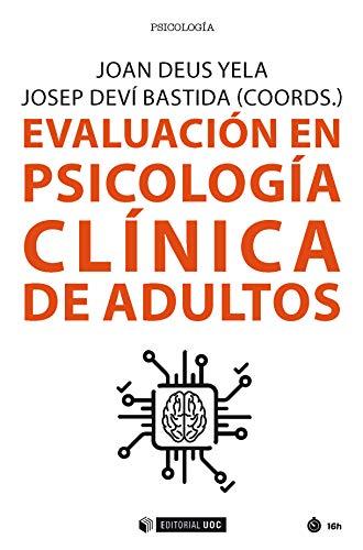 Evaluación en psicología clínica de adultos (Manuales) (Spanish Edition)