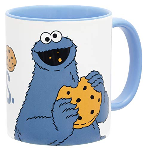 Sesamstraße Me just here for The Cookies Tasse