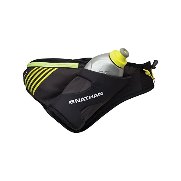 Nathan Peak Hydration  Waist Pack with storage area & Run Flask 18oz – Running,...