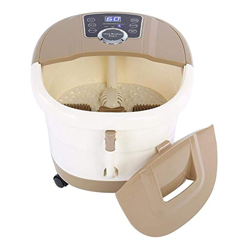 LLDKA massagestoel, draagbaar, massagefunctie met Shiatsu-massage, automatische ruota-massage, elektrisch, 220 V