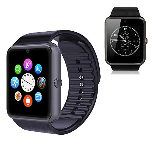 Fashion NFC Bluetooth GSM Smart Watch GTO8 with Camera for Samsung S5 / Note 2/3 / 4, Nexus 6, HTC, Sony and Other Android Smartphones