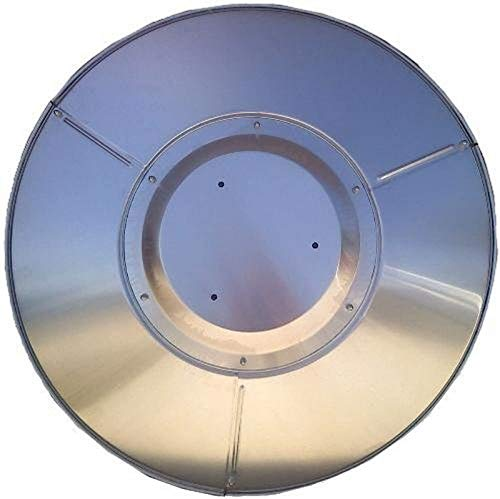LAMTON Patio Heater Shield Replacement Accessories, Top Shield Reflector Aluminum for Outdoor Propane Patio Heaters, Removable Universal Fit