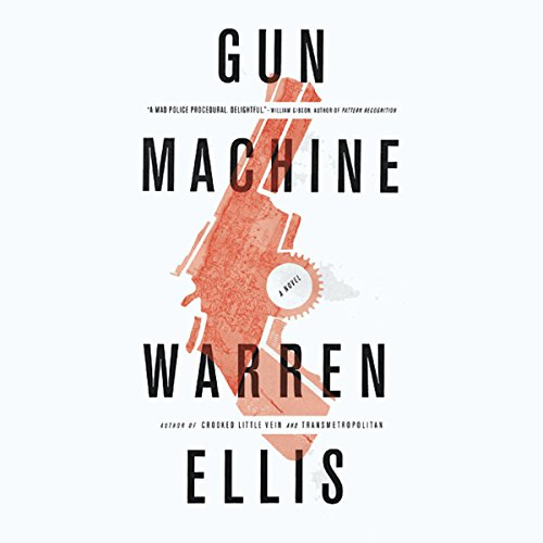 Gun Machine audiobook cover art