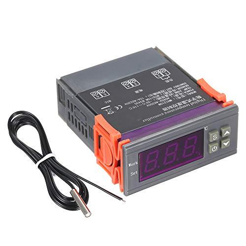 KKmoon Digitaler Temperaturregler Intelligenter Mikrocomputer Hohe Genauigkeit Heizung/Kühlung Temperaturregelung Thermostatregler mit Sensor