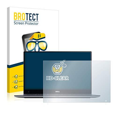 BROTECT Schutzfolie kompatibel mit Dell XPS 13 9360 QHD Touch klare Bildschirmschutz-Folie