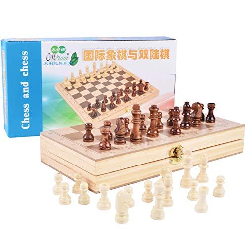チェスセット 国際チェス 楽しめる ボードゲーム 教育 脳トレーニング 知能開発 収納便利 学生 チェスの子供の先駆者折りたたみボードセット 大人のエントリーパズルチェスの駒 パーティーファミリーアクティビティ用 子供の教育玩具 国際将棋 2人で遊ぶ 家庭 娯楽 ゲーム 子供のための初心者のチェスセッ トラベルチェスセット (Color : 29.5x14.5x5cm)