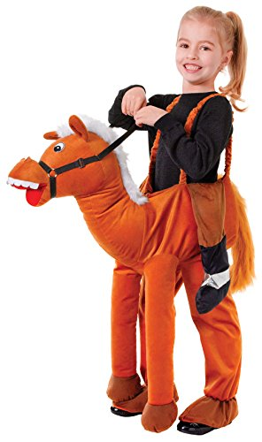 Bristol Novelty CC238 Pferd Kostüm, braun, Einheitsgröße