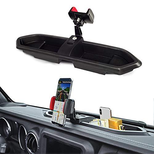 TINNYFY for Jeep JL Wrangler Phone Holder Mobile Cellphone Holder Car Stand Bracket Radio Holder...