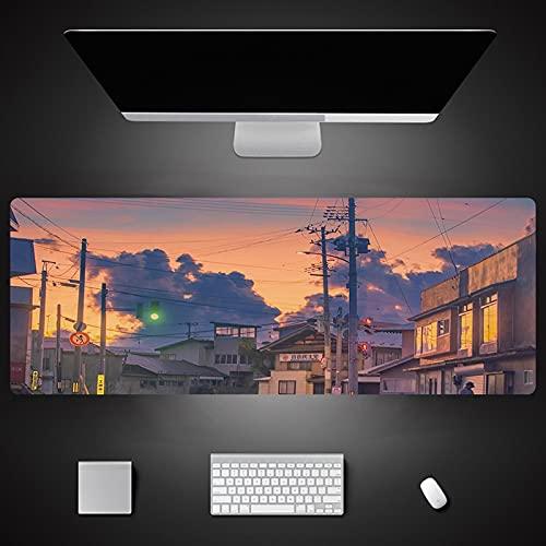 Landscape Printing Large Mouse Pad Locked Mouse Mat Keyboard Desk Mat For...